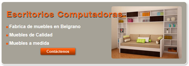 Fabrica de escritorios para computadora for Muebles sillones capital federal