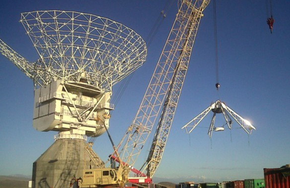 Telespazio Argentina s.a. tiene un nuevo satélite en Mendoza