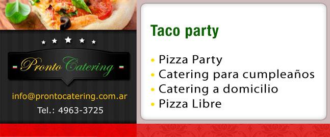 taco party, tacos para fiestas, che taco bar y antojitos mexicanos, tacos para fiesta, catering de comida, catering de comida mexicana, tacos en buenos aires, tacos mexicanos,